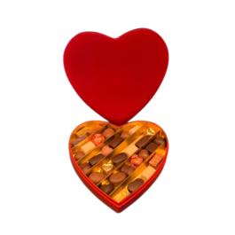 Βελούδινη κασετίνα καρδιά L – BV2104