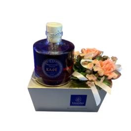 Σύνθεση δώρου σε κλασσικό κουτί Μπαλοτέν – SD1