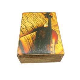 Ξύλινο διακοσμητικό κουτί – SD18