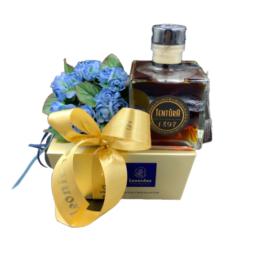 Σύνθεση δώρου σε κλασσικό κουτί Μπαλοτέν SD2 – SD2