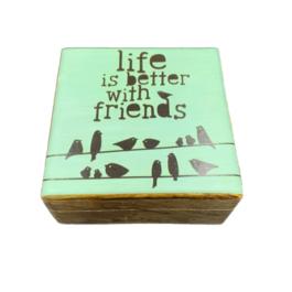 Ξύλινο διακοσμητικό κουτί – SD2029