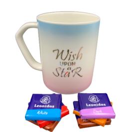 """Κούπα """"Wish"""" σε παλ χρώματισμούς  – MM2122"""
