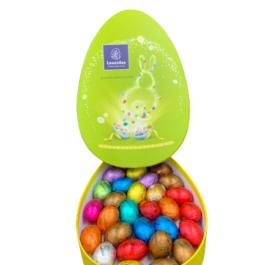Οβάλ χάρτινη κασετίνα αυγό  – EL2106