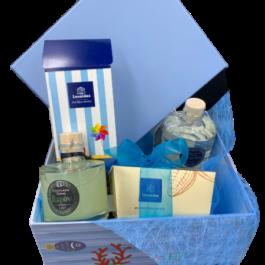 Σύνθεση δώρου σε καλοκαιρινό κουτί – SD2147