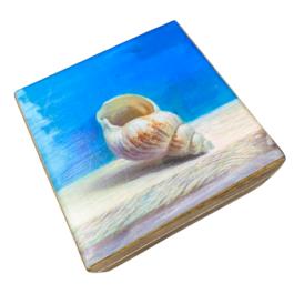 Ξύλινο καλοκαιρινό διακοσμητικό κουτί – SD2149