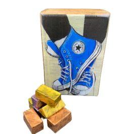 Ξύλινο διακοσμητικό κουτί αθλητικά παπούτσια SD2155